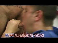 Firefighter Slams Sailors Ass