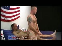 FireFighter Tears Up Marine Ass