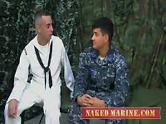 Sailor'S First Gay Blow Job