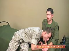 Army Stud Trains Marine