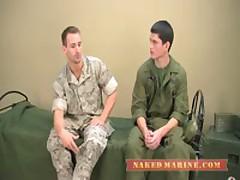 Army Stud Trains Marine
