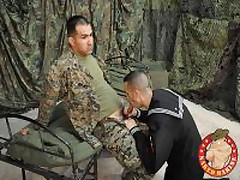 Marine Recieves His Fisrt Gay...