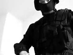 SWAT - Cop Jacking Off
