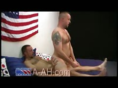 FireFighter Tears Up Marine Ass