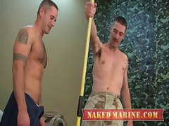 Army Stud Gets Plowed