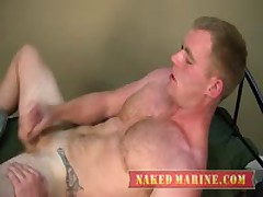 Hot Ginger Sailor Jacks His...