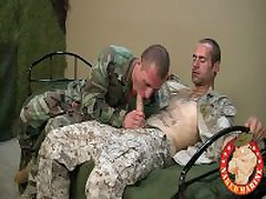 Hot Muscle Army Guy Gets Nailed