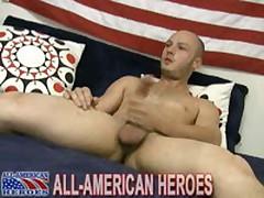 Sexy Firefighter Unloads