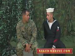 Marine Recieves His Fisrt Gay...