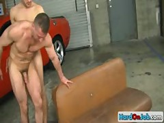 Mechanic Fucks And Sucks By Hardonjob