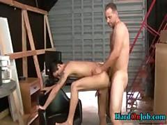 Horny Guy Sucking Some Really Fat Gay Cock 4 By HardOnJob