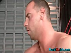 Horny Guy Sucking Some Really Fat Gay Cock 4 By HardOnJob