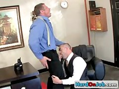 Queer Fucks And Sucks At The Work 15 By HardOnJob