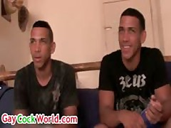 Latino Leandro And Frank Andrus Interviewed 2 By GayCockWorld