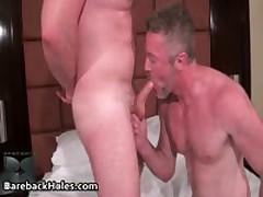 Hard Core Homosexual Condomless Assfuck Making Out And Hardon Sucking Porno 5 By BarebackHoles