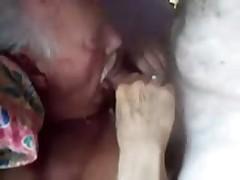 Old Grandpa Sucking Mature Man