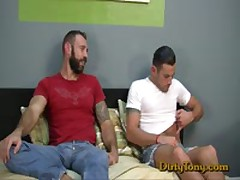 Latino Abuses Beefy Hairy Mans Ass