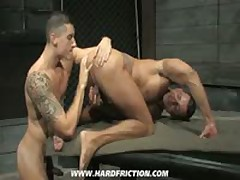 Jay Roberts And Angelo Marconi In 'Satisfaction'