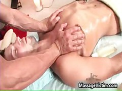 Jake Austin Gets His Steamy Body Rubbed 9 By MassageVictim