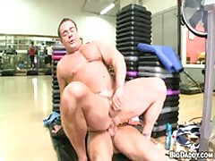 Two Hot Gym Guys Fuck Hard