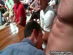 Big Group Of Aroused Men Go Funny Three By CockSausage