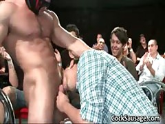 Steamy Jizzster Sucking Off Party Sausgage 5 By CockSausage