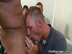Enormous Gay Erection Sucking Off Gangbang Four By CockSausage