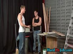 Dylan And Gaving Sucking And Fucking At The Job 1 By HardOnJob