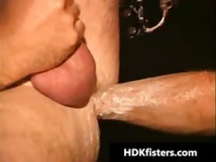 Queer Buddy Getting His Tattooed Poopshute Fisted 6 By HDKfisters