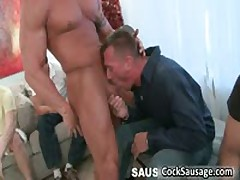 Group Of Aroused Dudes Crave For Penis 1 By CockSausage