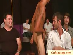 Buddy Gets His Good Looking Face Creamed By Cocksausage