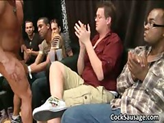 Bunch Of  Queer Dudes Go Pleasure In Club 5 By CockSausage