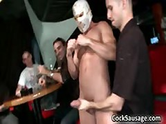 Exciting Jizzster Sucking Off Party Sausgage 7 By CockSausage
