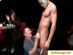 Bro Gets Glasses Covered In Cum By Cocksausage