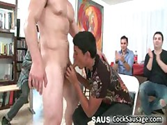 Group Of Horny Guys Crave For Cock 7 By CockSausage
