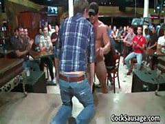 Large Group Of Horny Dudes Go Crazy 2 By CockSausage