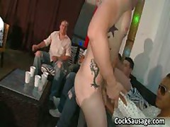 Lots Of Horny Guys And A Stripper 5 By CockSausage