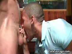 Large Group Of Horny Dudes Go Crazy 1 By CockSausage