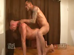 Pigs Jonathan Agassi And Jessie Colter Piss, Fist, And Fuck With Feet