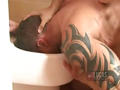 Raunch Top Lucio Saints Fucks And Drowns Ben Brown In Piss