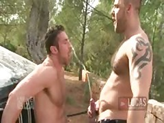 Muscle Bottom Scott Carter Takes Pig Top Bruno Knight'S Hard Dick And Hot Piss
