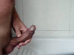 Peeing On My Cock And Balls