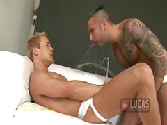 Piss King Jonathan Agassi Humiliates Carsten Andersson