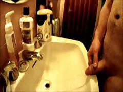 Pissing In The Sink GoPro HD Cam