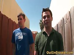 Aroused Gays Have Some Crowd Screw 7 By Outincrowd