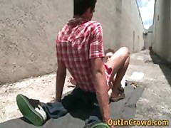 Steamy Heterosexual Hotties Get Outed In Crowd Places Gratis Homosexual Flicks 15 By OutInCrowd