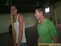 Aroused Gays Having Intercourse In A Side Alley 2 By OutInCrowd