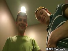 Dudes Fucked And Sucked In A Restroom 11 By OutInCrowd
