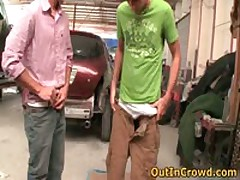 Amazing Gays Fucked And Sucked In A Service Station 2 By OutInCrowd