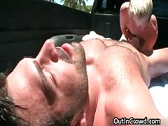 Homo Suck And Fuck In A Truck 11 By OutInCrowd